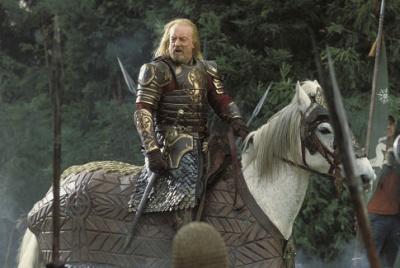 Bernard Hill as King Theoden